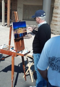 CHP painting at Quick Draw2